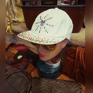 Bedazzled, DISNEY, dad hat!!